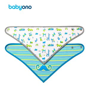 877-3 BabyOno podbradak trokutasti