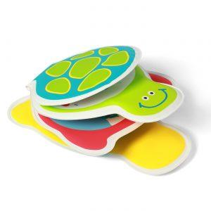 892 BabyOno knjigica slikovnica za kupanje kornjača za zvukom