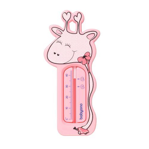 775-1 BabyOno termometar toplomjer žirafa roza