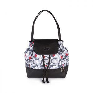 1501-01 BabyOno torba za mamu UPTOWN s trokutima