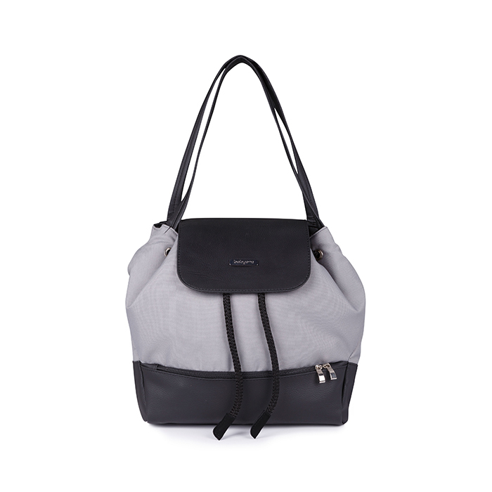 1501-03 BabyOno torba za mamu UPTOWN siva