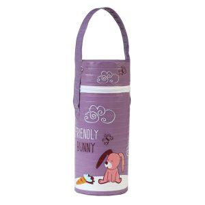 604 BabyOno termo torba za bocu Ljubičasta-zeko